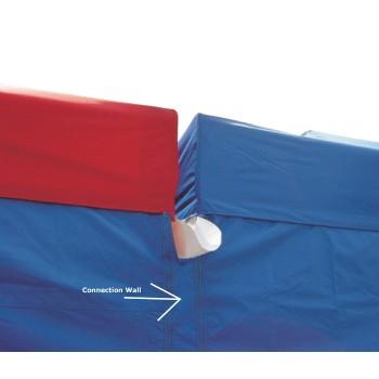 Fobindelsesvæg til 4m side Woxxi Power / Compact pløkker, foldetelt tilbehør, vægte til telt-31