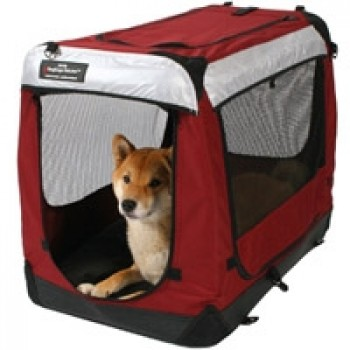 DogCage Deluxe Large Grøn-31