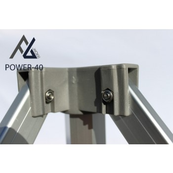 Woxxi POWER-40 Hvid 3x6 m Uden sider-31