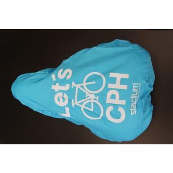Cykelsadel cover med logo (Polyester 210T)-31
