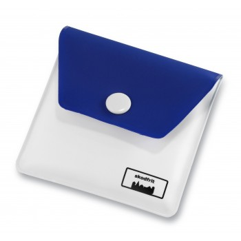 Lommeaskebægre EVA plast-Blå/Hvid-31