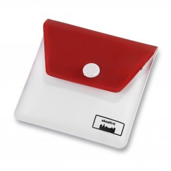 Lommeaskebægre EVA plast-Rød/Hvid-31
