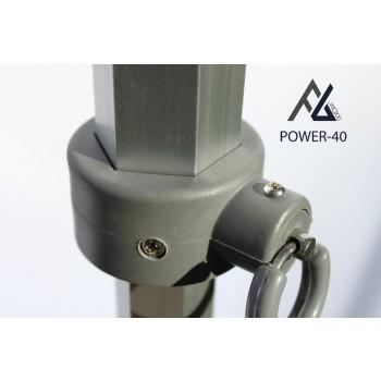 Woxxi POWER-40 Sort 3x3 m Uden sider-31