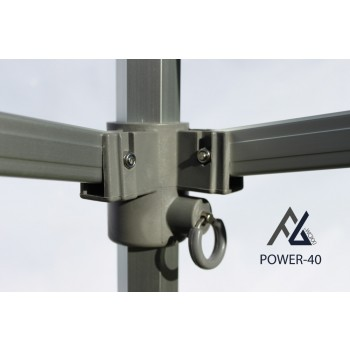Woxxi POWER-40 Sort 3x4,5 m m/4 sider-31