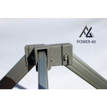 Woxxi POWER-40 Hvid 3x4,5 m m/4 sider-31