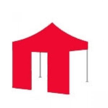 Dørside Woxxi Power / Compact-Rød-4,5 meter pløkker, foldetelt tilbehør, vægte til telt-31