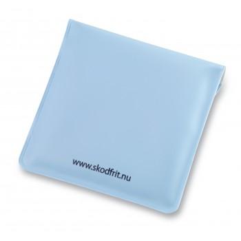 Lommeaskebægre EVA plast-Sky/Hvid-31