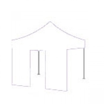 Dørside Woxxi Power / Compact-Hvid-3 meter pløkker, foldetelt tilbehør, vægte til telt-31