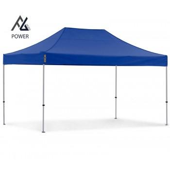 Woxxi POWER-40 Blå 3x4,5 m Uden sider Racingtelt, pit telt, rally telt, gokart telt-31
