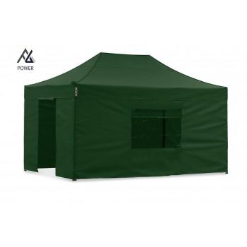 Woxxi POWER-40 Grøn 3x4,5 m m/4 sider Racingtelt, pit telt, rally telt, gokart telt-31
