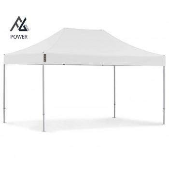 Woxxi POWER-50 Hvid 3x4,5 m Uden sider Racingtelt, pit telt, rally telt, gokart telt-31