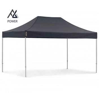 Woxxi POWER-40 Sort 3x4,5 m Uden sider Racingtelt, pit telt, rally telt, gokart telt-31