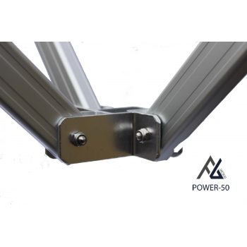 Woxxi POWER-50 Rød 3x4,5 m Uden sider-31