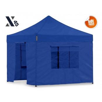 X45 Blå 3x3 meter med sider