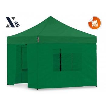 X45 Grøn 3x3 meter med sider