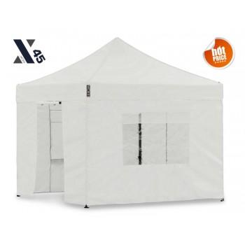 X45 Hvid 3x3 meter med sider