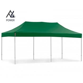 Woxxi POWER-40 Grøn 3x6 m Uden sider Racingtelt, pit telt, rally telt, gokart telt-31