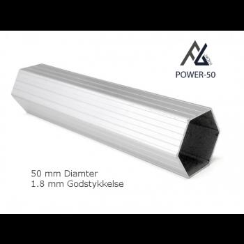 Woxxi POWER-50 Rød 4x8 m Uden sider-31