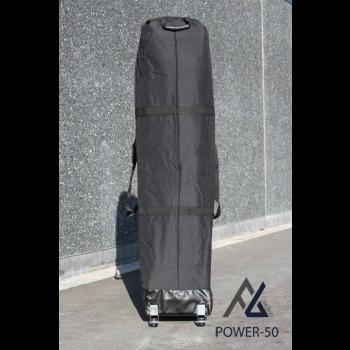 Woxxi POWER-50 Sort 4x8 m m/6 sider Racingtelt, pit telt, rally telt, gokart telt-31
