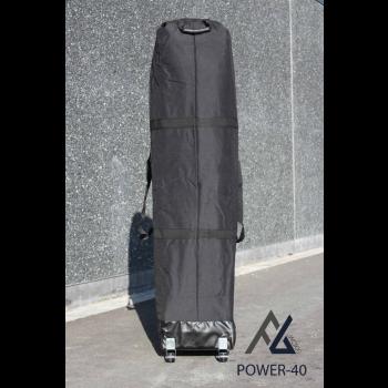 Woxxi POWER-40 Sort 4x6 m Uden sider Racingtelt, pit telt, rally telt, gokart telt-31
