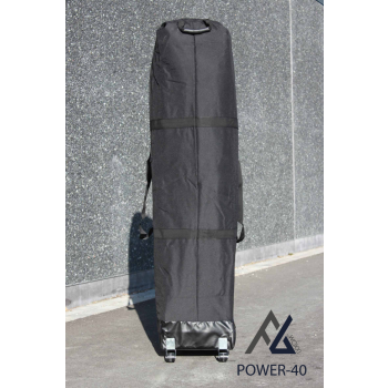 Woxxi POWER-40 Sort 3x3 m Uden sider Racingtelt, pit telt, rally telt, gokart telt-31