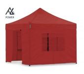 Woxxi POWER-40 Rød 3x3 m m/4 sider-20
