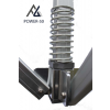 Woxxi POWER-50 Sort 3x6 m Uden sider-01