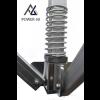 Woxxi POWER-50 Sort 4x8 m Uden sider-01