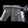 Woxxi POWER-50 Blå 3x3 m Uden sider-01