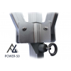Woxxi POWER-50 Hvid 3x3 m m/4 sider Racingtelt, pit telt, rally telt, gokart telt-01