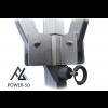 Woxxi POWER-50 Rød 3x4,5 m Uden sider-01