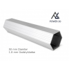 Woxxi POWER-50 Hvid 4x8 m m/6 sider-01